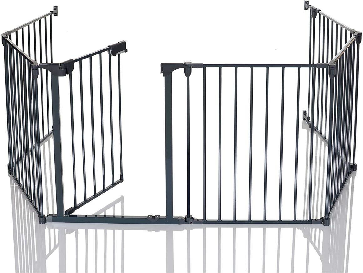 Barrière de sécurité pliable pour cheminée de LCP Kids