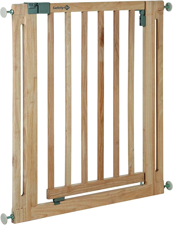 Barrière de sécurité d'escalier en bois de Safety 1st