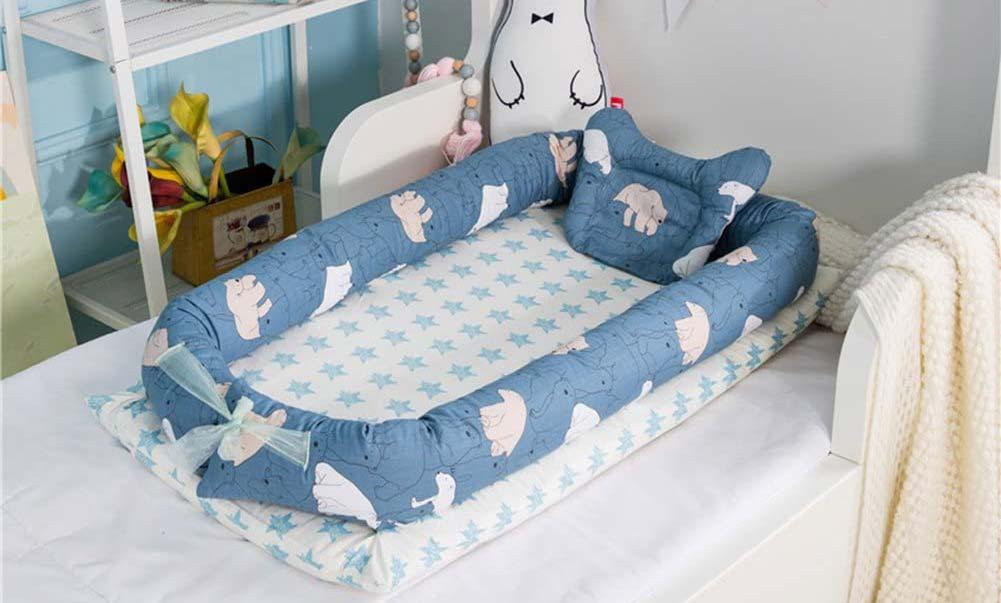 Réducteur de lit avec coussin de Luerme