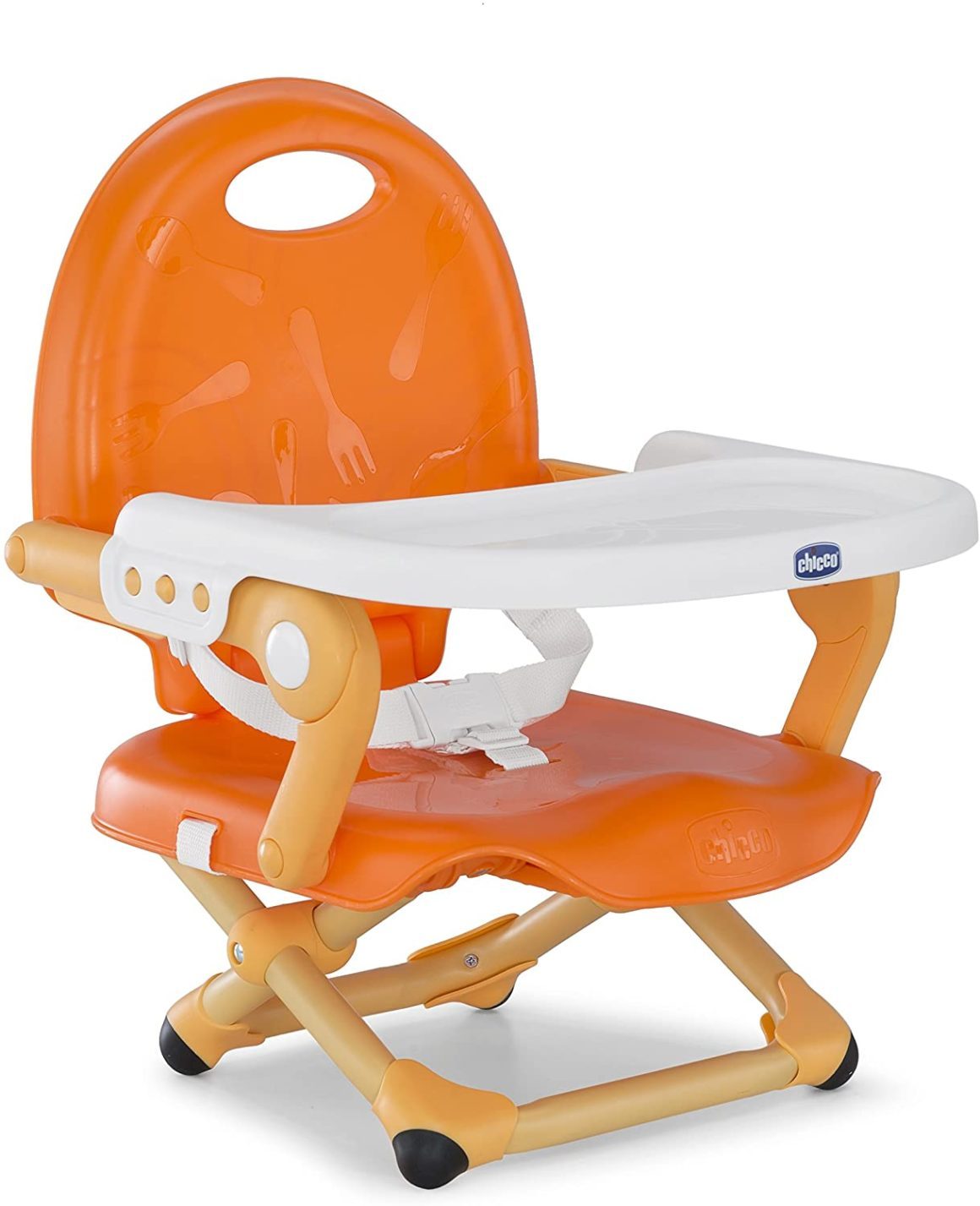 Réhausseur de chaise bébé orange de Mandarino