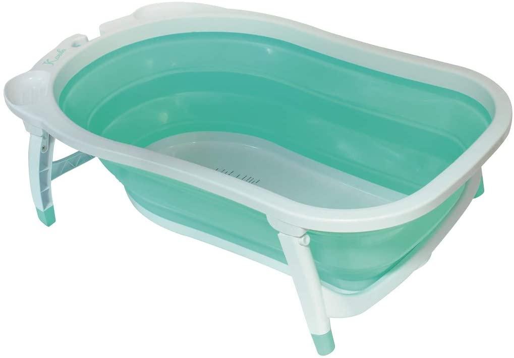 Baignoire bébé pliable Babysun turquoise