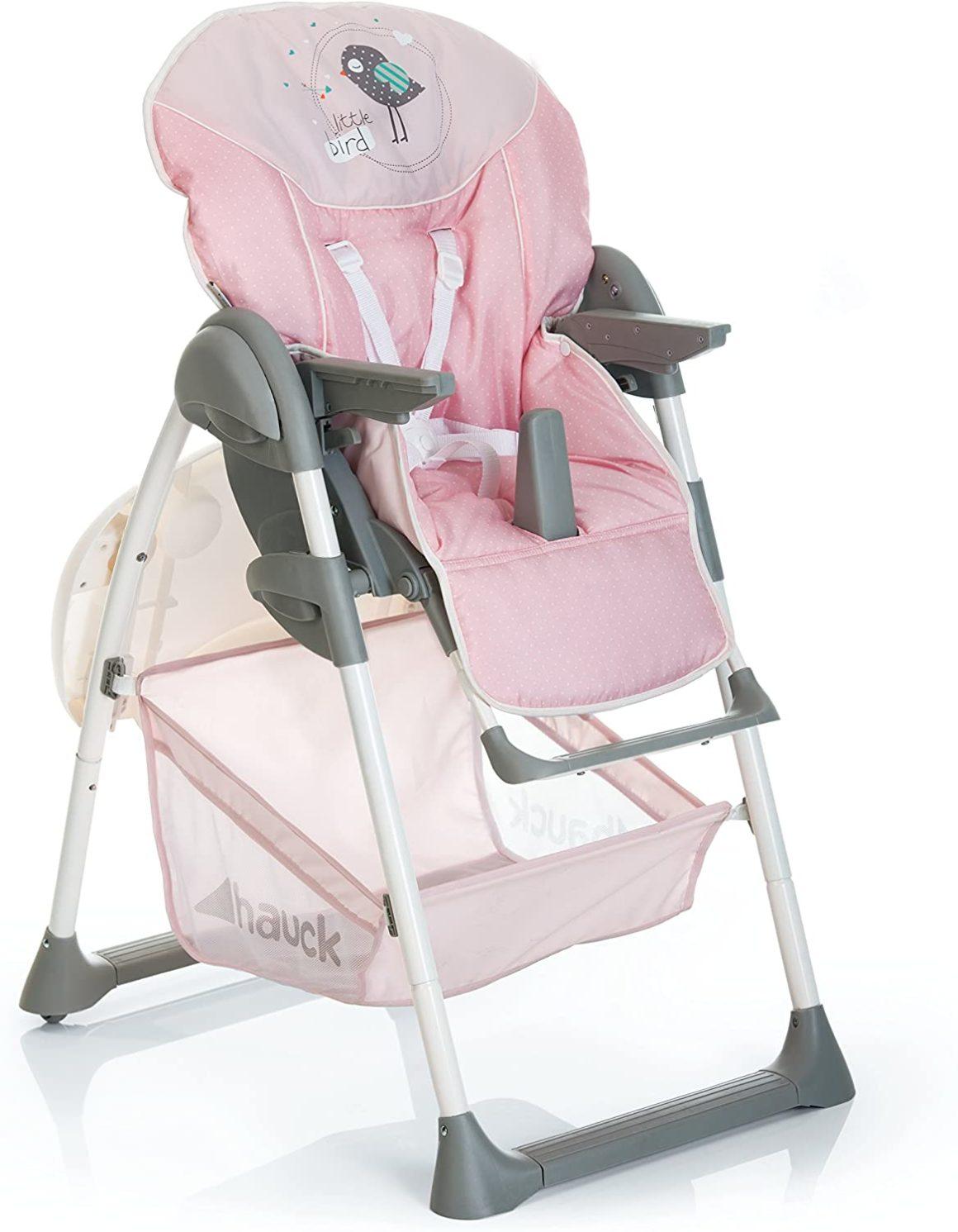 Chaise haute bébé 3en1 de Hauck