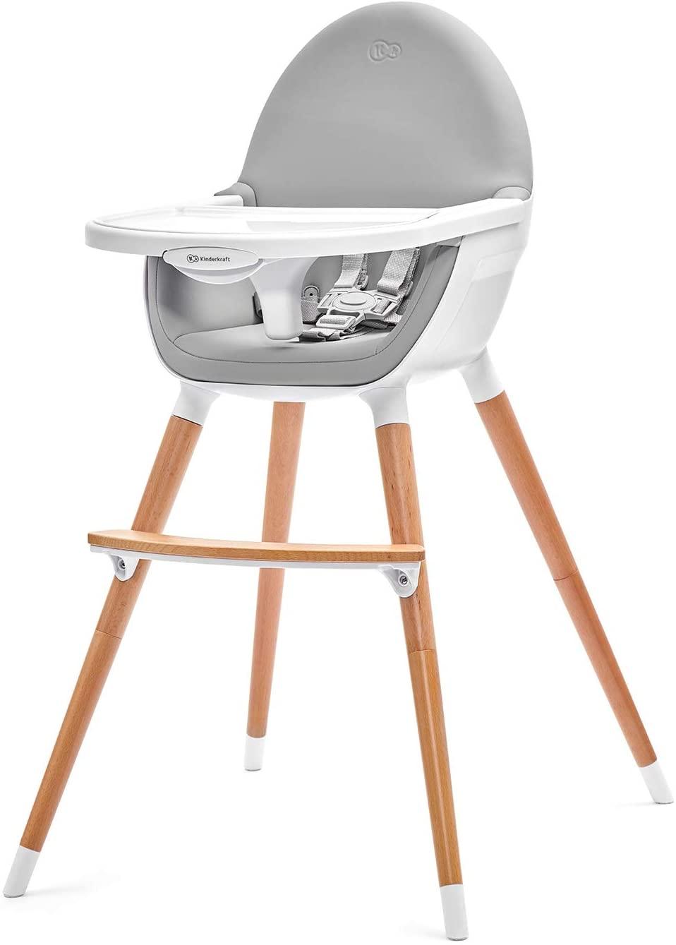 Chaise haute bébé de KinderKraft