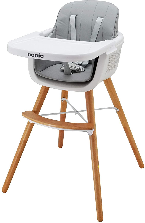 Chaise haute bébé Luna 2en1 de ?Nania