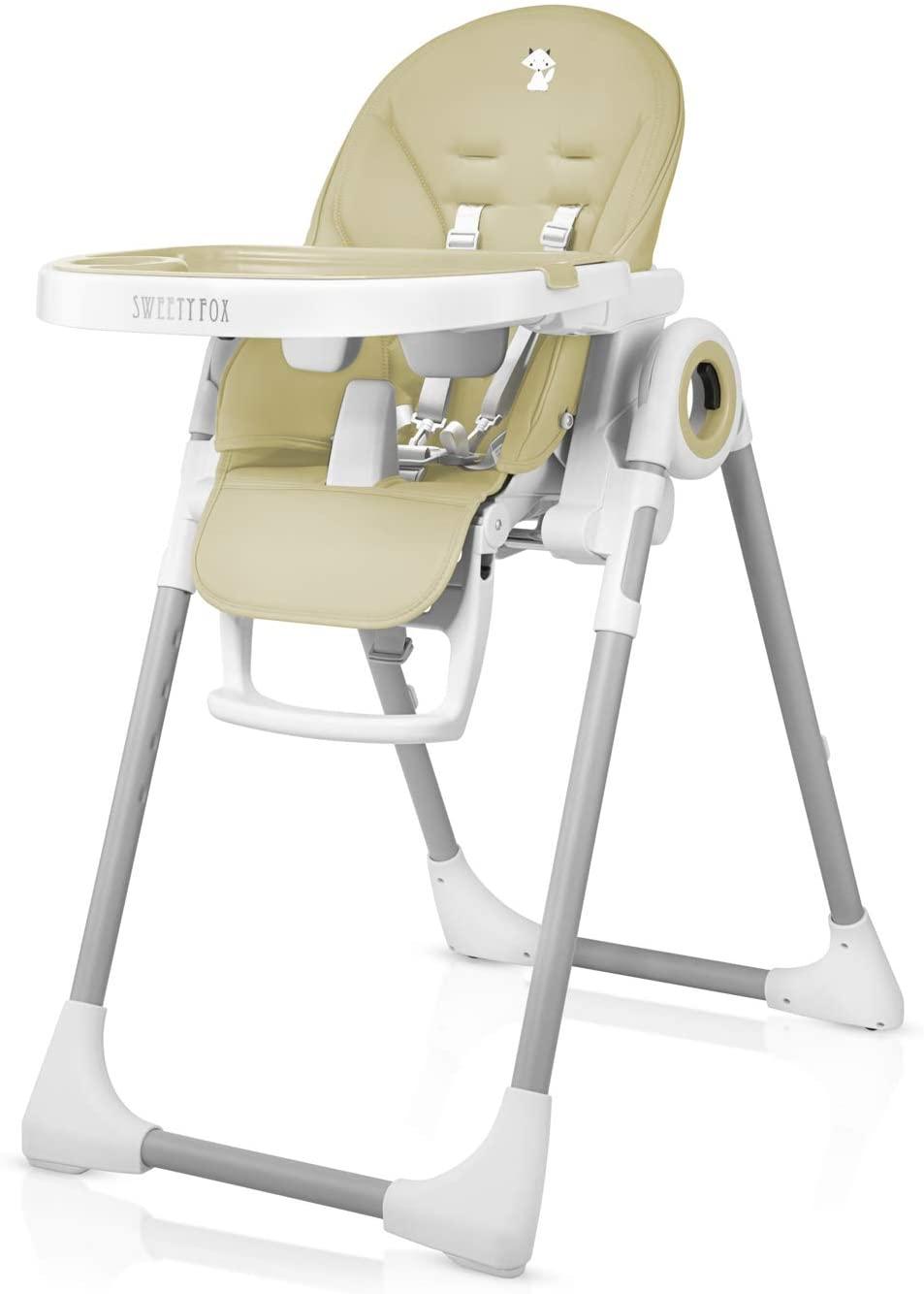 Chaise haute bebe pliable de Sweety Fox