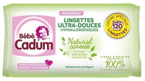 Lingette bébé Cadum