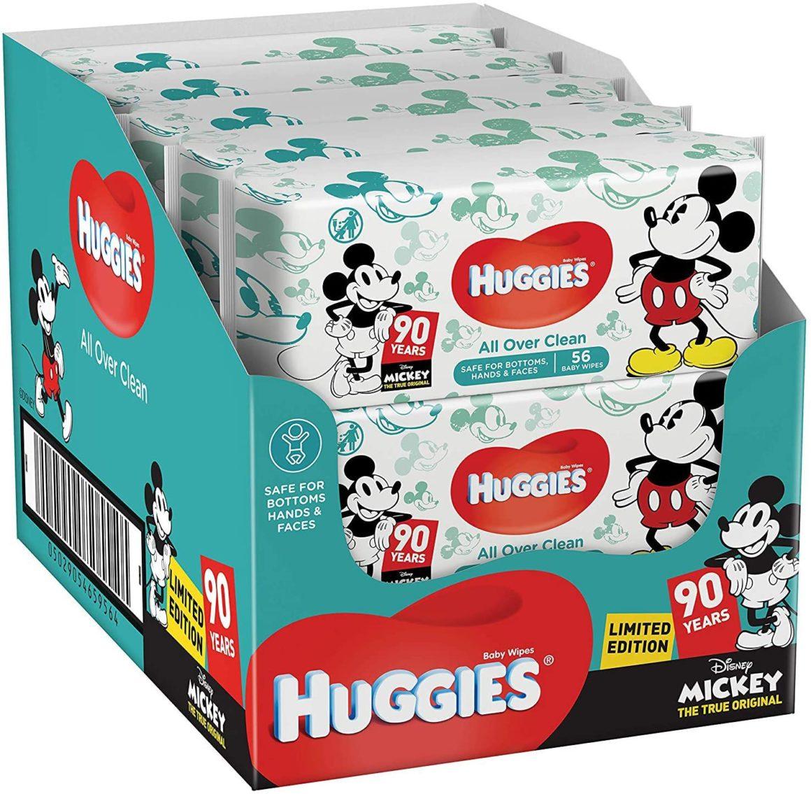 Lingette bébé Huggies Disney