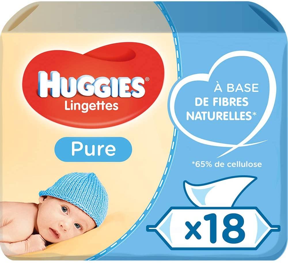 Lingette bébé Huggies Pure