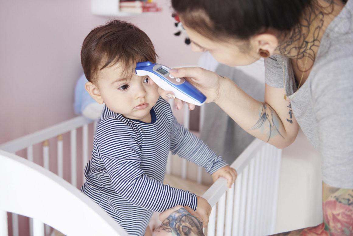 Meilleur thermomètre frontal bébé