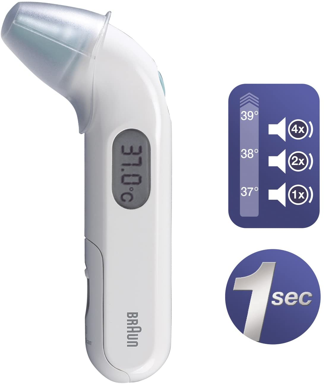 Braun irt3030 Thermoscan 3 Thermomètre infrarouge pour oreille