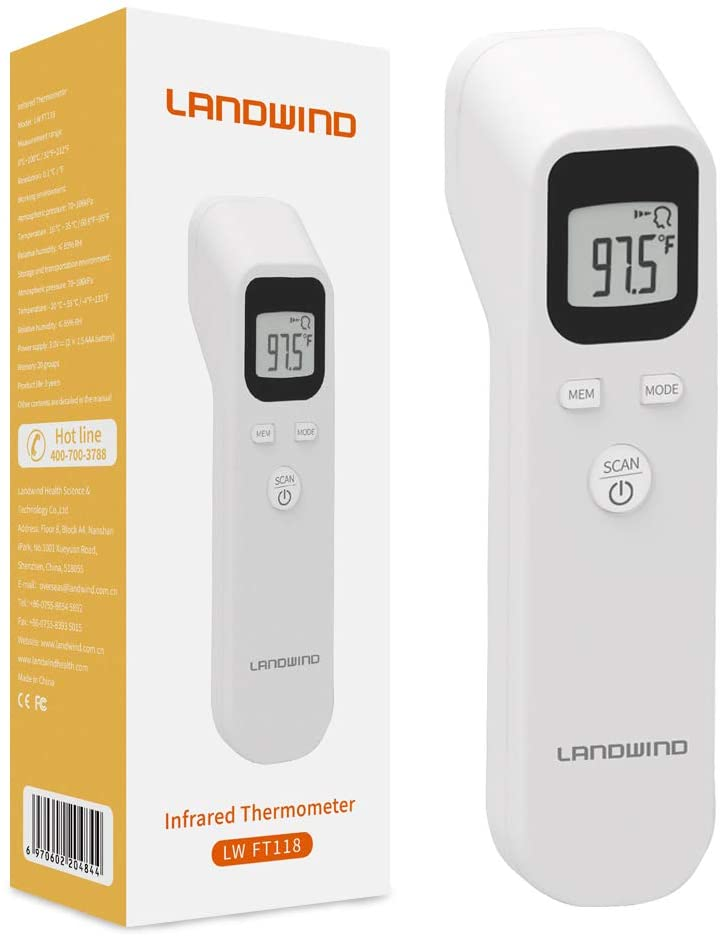 Thermomètre frontal bébé Landwind